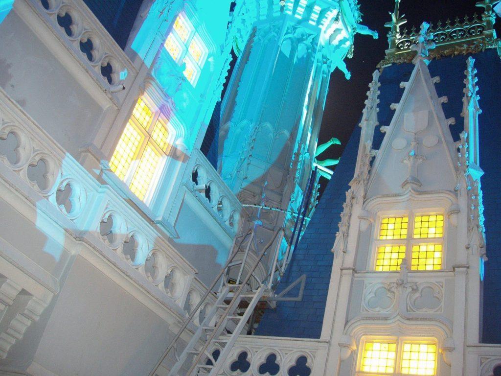 climbing cinderellas castle