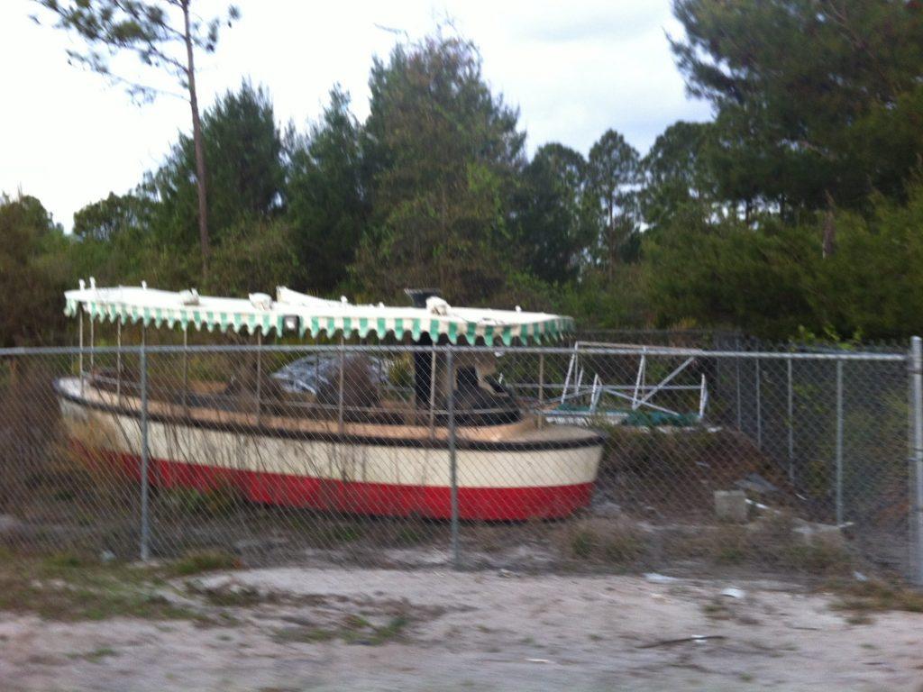 disney junkyard boat