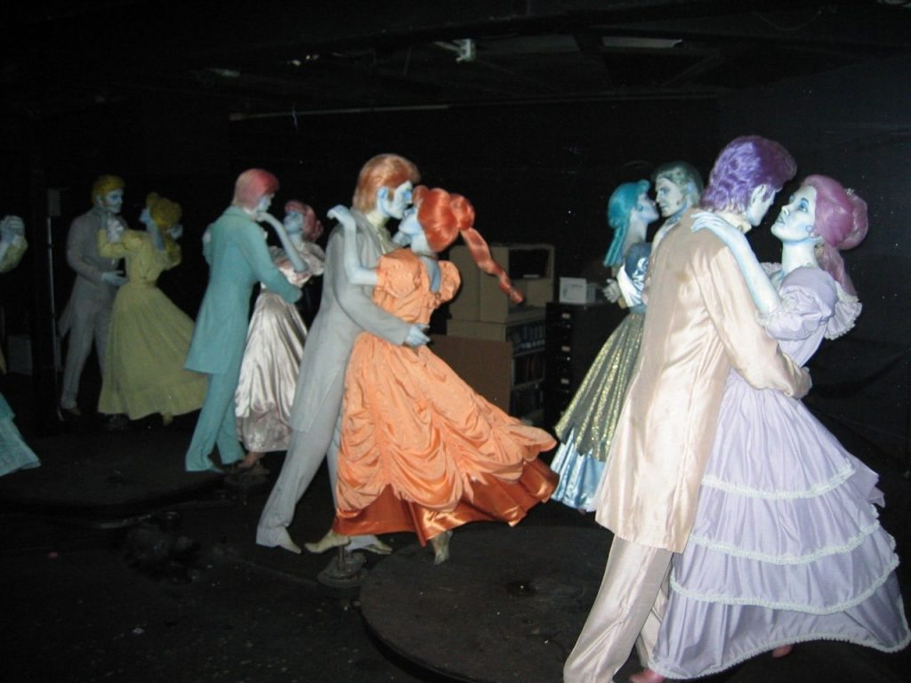 haunted mansion ballroom