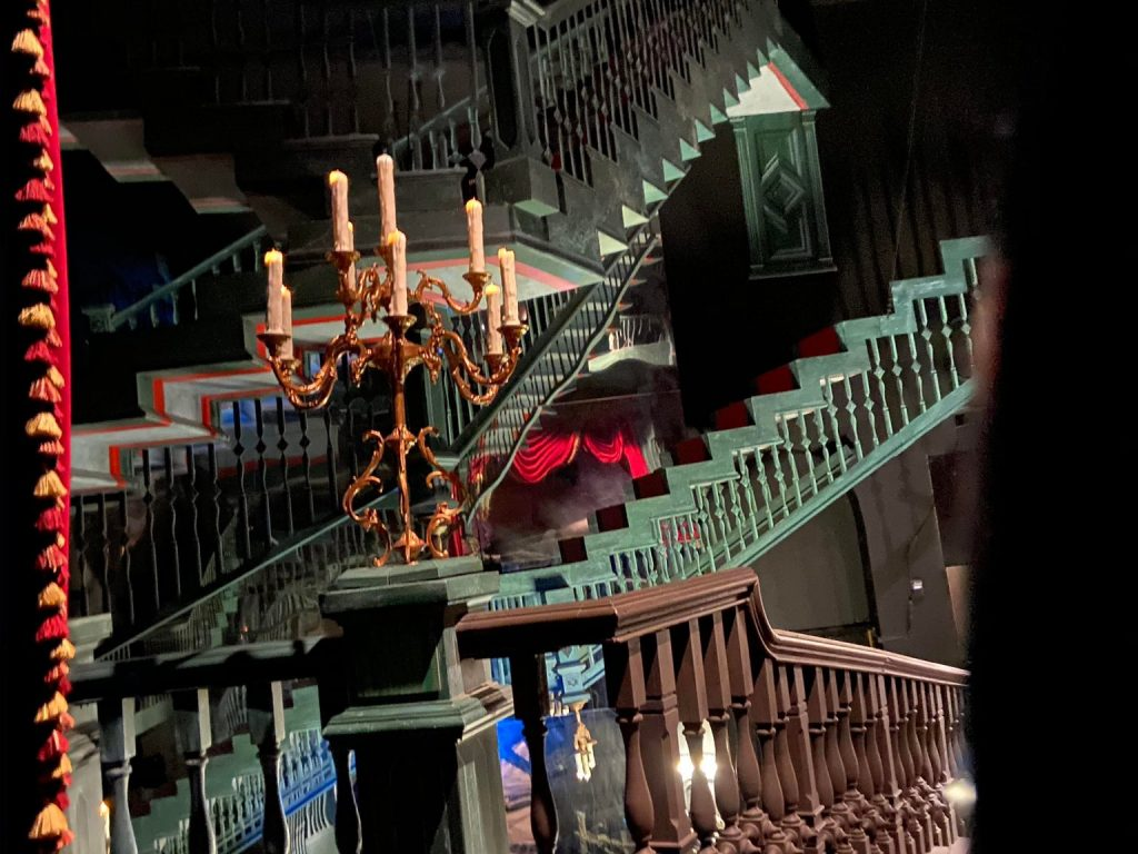 haunted mansion endless staircase