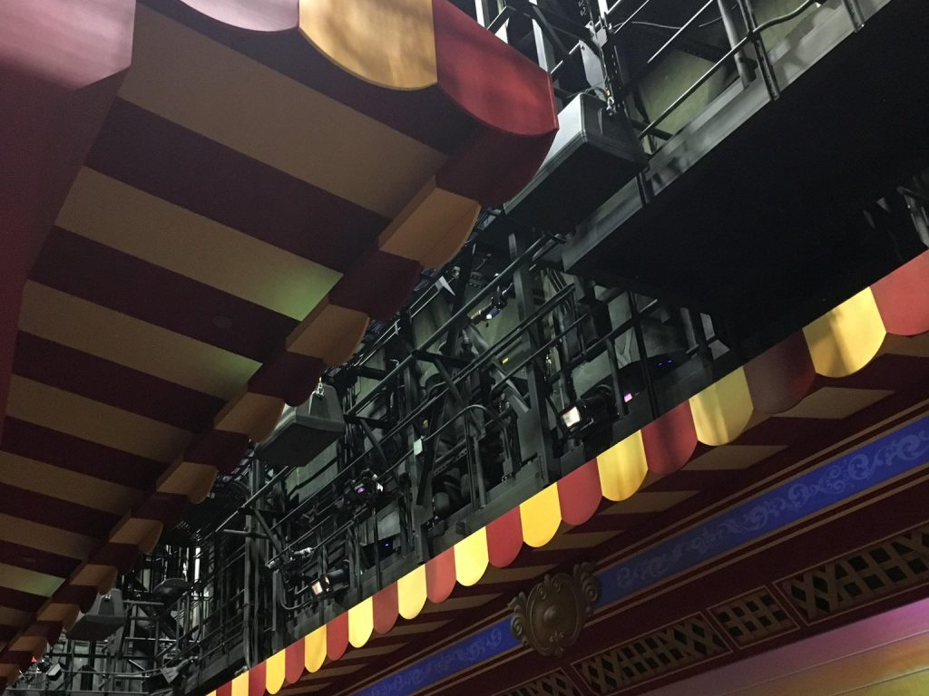 toy story mania catwalks