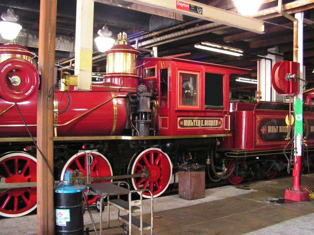 wdw train storage